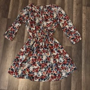 Floral dress by Lush